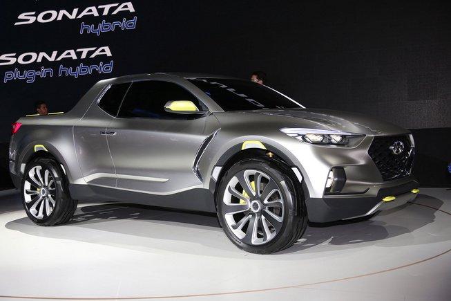 Hyundai Santa Cruz sắp hoàn tất thiết kế