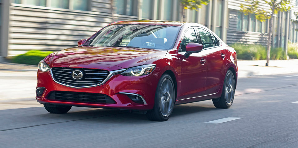 Mazda6 2017 tăng giá bán
