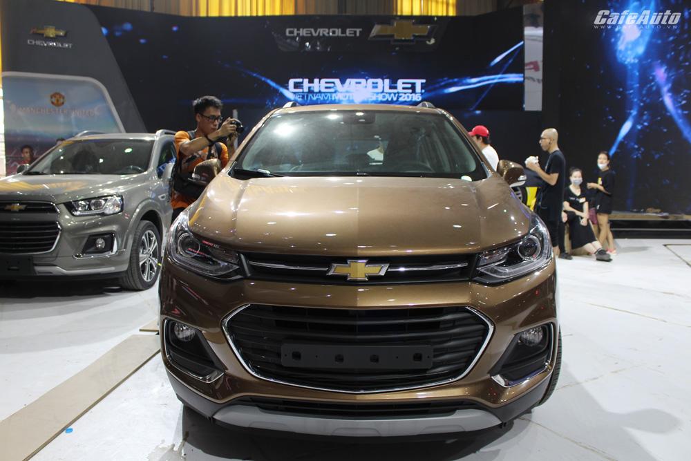 Chevrolet Trax 2017 - đối thủ nặng ký của Ford Ecosport
