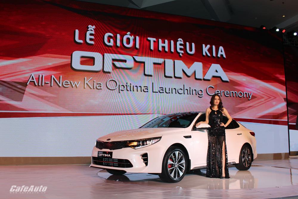 Kia Optima ra mắt tại Việt Nam, giá từ 915 triệu đồng