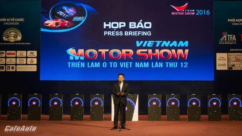 Triển lãm Ô tô Việt Nam 2016 chính thức khai màn