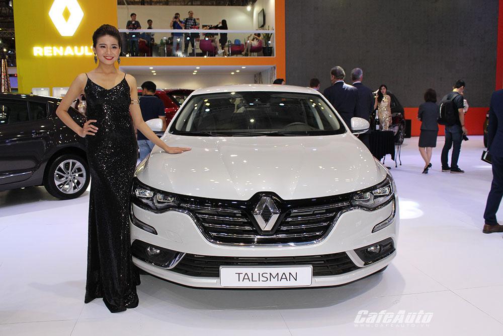 Ngắm Renault Talisman giá 1,499 tỷ đồng mới ra mắt