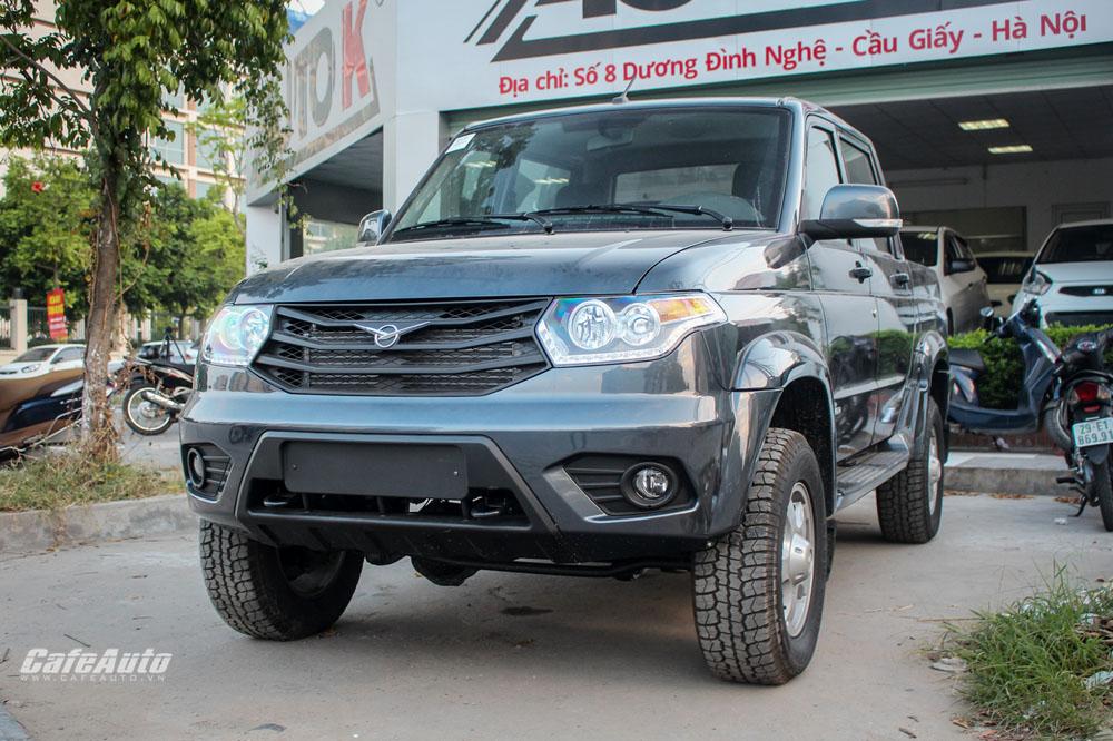 Chi tiết bán tải Nga giá 500 triệu UAZ Pickup