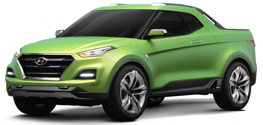 Hyundai trình làng thêm một mẫu bán tải mới