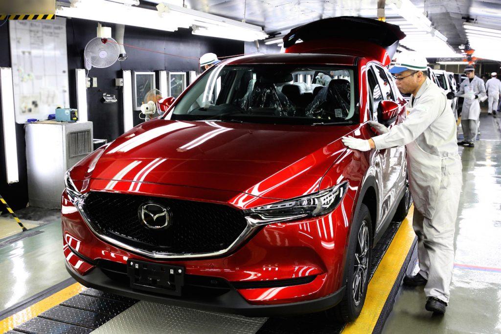 Mazda CX-5 đi vào sản xuất tại Nhật Bản