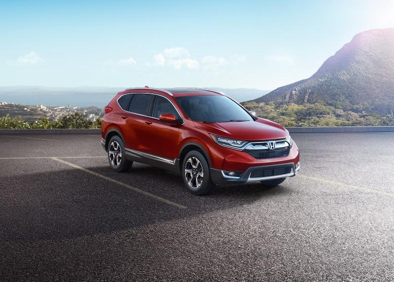 Honda CR-V 2017 có giá từ 24.925 USD