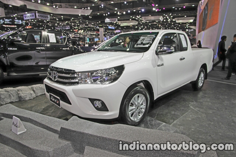 Toyota Hilux Revo G 2016 ra mắt tại Thái Lan