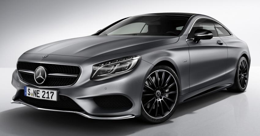 Mercedes-Benz S-Class Coupe sẽ có 3 phiên bản đặc biệt Night Edition