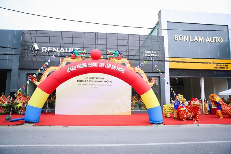 Renault khai trương đại lý 3S tại Hải Phòng