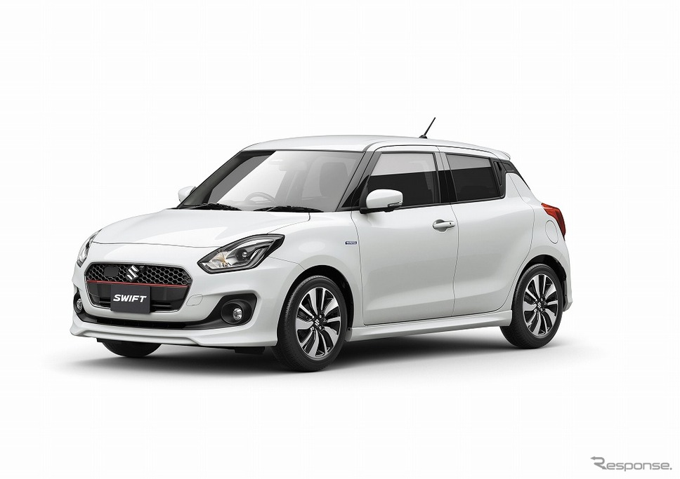 Suzuki Swift 2017 ra mắt tại Nhật Bản