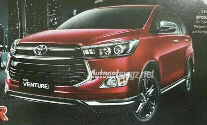 Toyota Innova sắp ra mắt phiên bản Venturer tại Indonesia