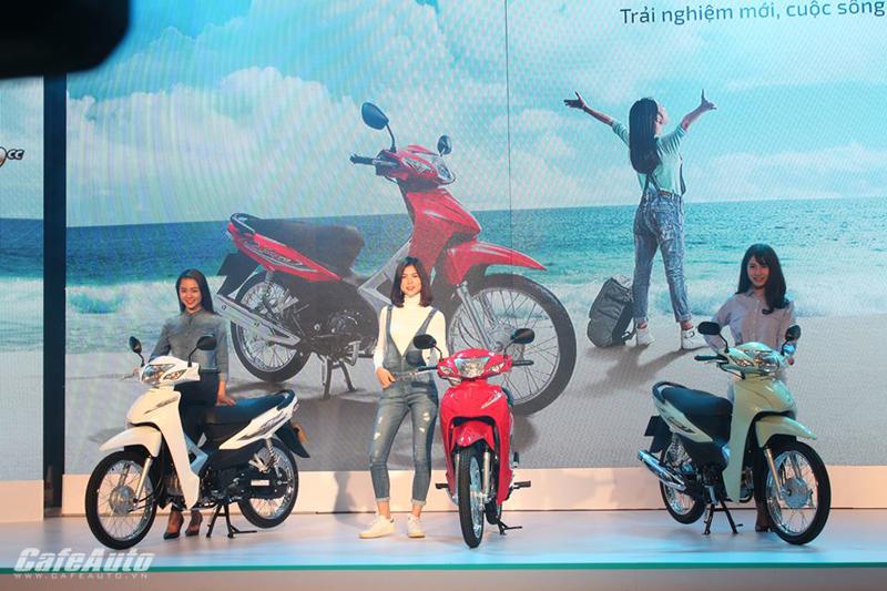 Honda Wave Alpha động cơ hoàn toàn mới ra mắt tại Việt Nam
