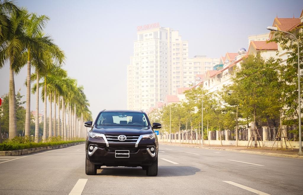 Toyota Fortuner 2017 – Cuốn hút vì vẻ hào hoa