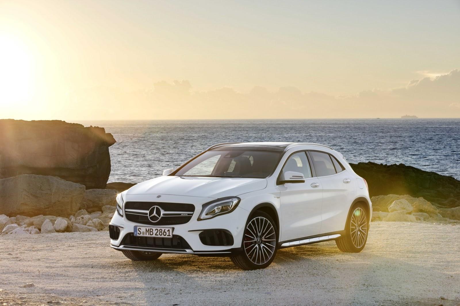 Mercedes-Benz GLA 2017 ra mắt trước thềm triển lãm Detroit