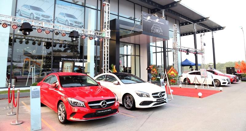 Mercedes-Benz Việt Nam nâng cấp đại lý An Du Hải Phòng