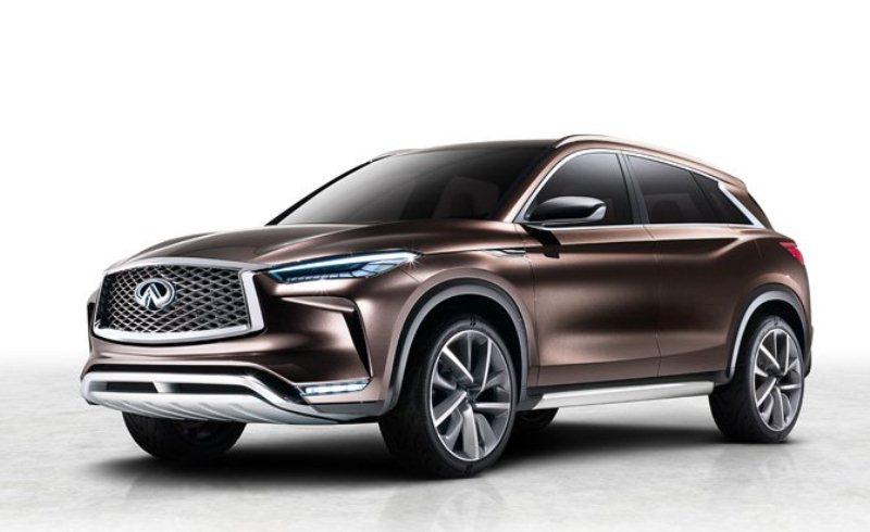 QX50 Concept – SUV hạng sang cỡ trung mới của Infiniti