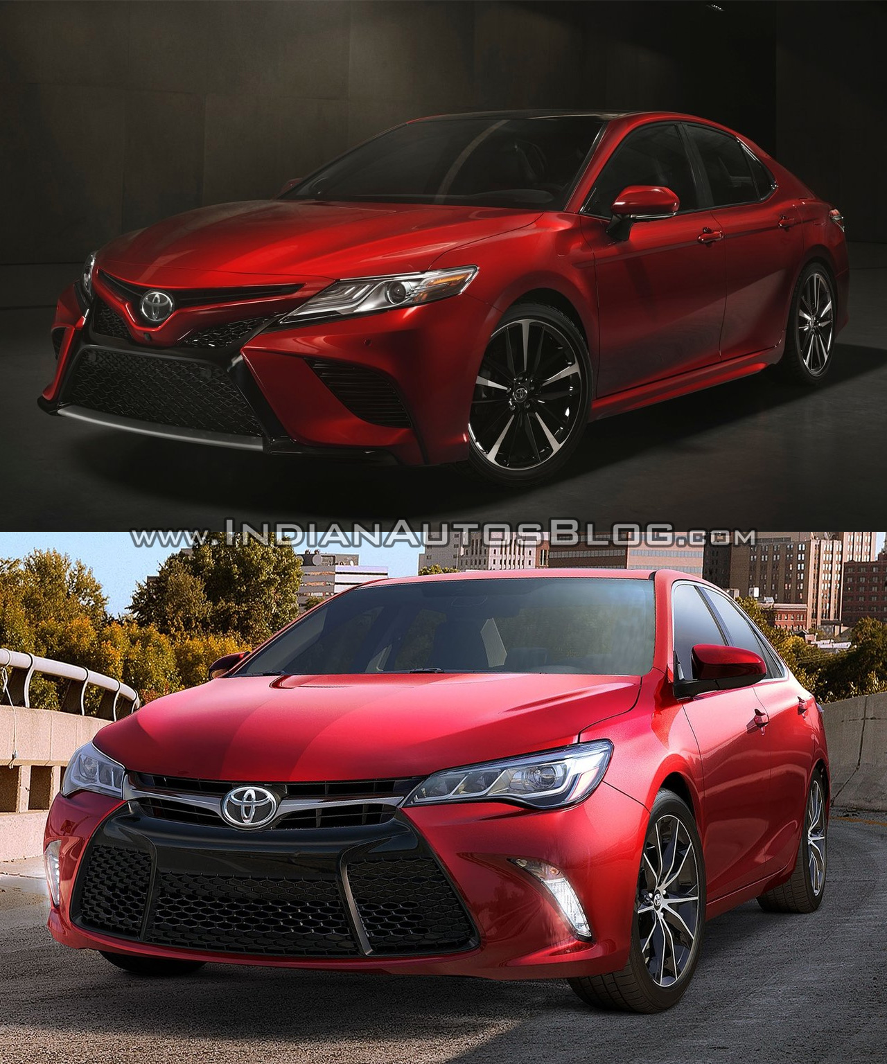 So sánh Toyota Camry mới và cũ qua ảnh