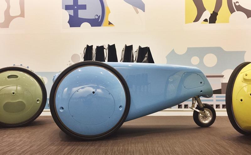 Piaggio chính thức giới thiệu loại rô-bốt tự đi theo người