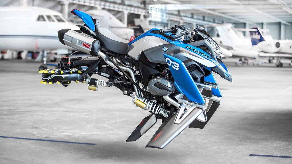 BMW sản xuất mô hình mô tô bay kích thước như xe thật