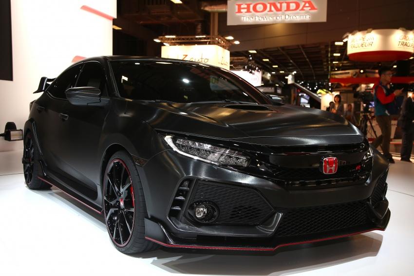 Honda Civic Type R 2017 sẽ lộ diện tại Geneva Motor Show
