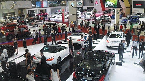 Thuế giảm, xe nhập khẩu ASEAN tăng đột biến trong tháng đầu năm