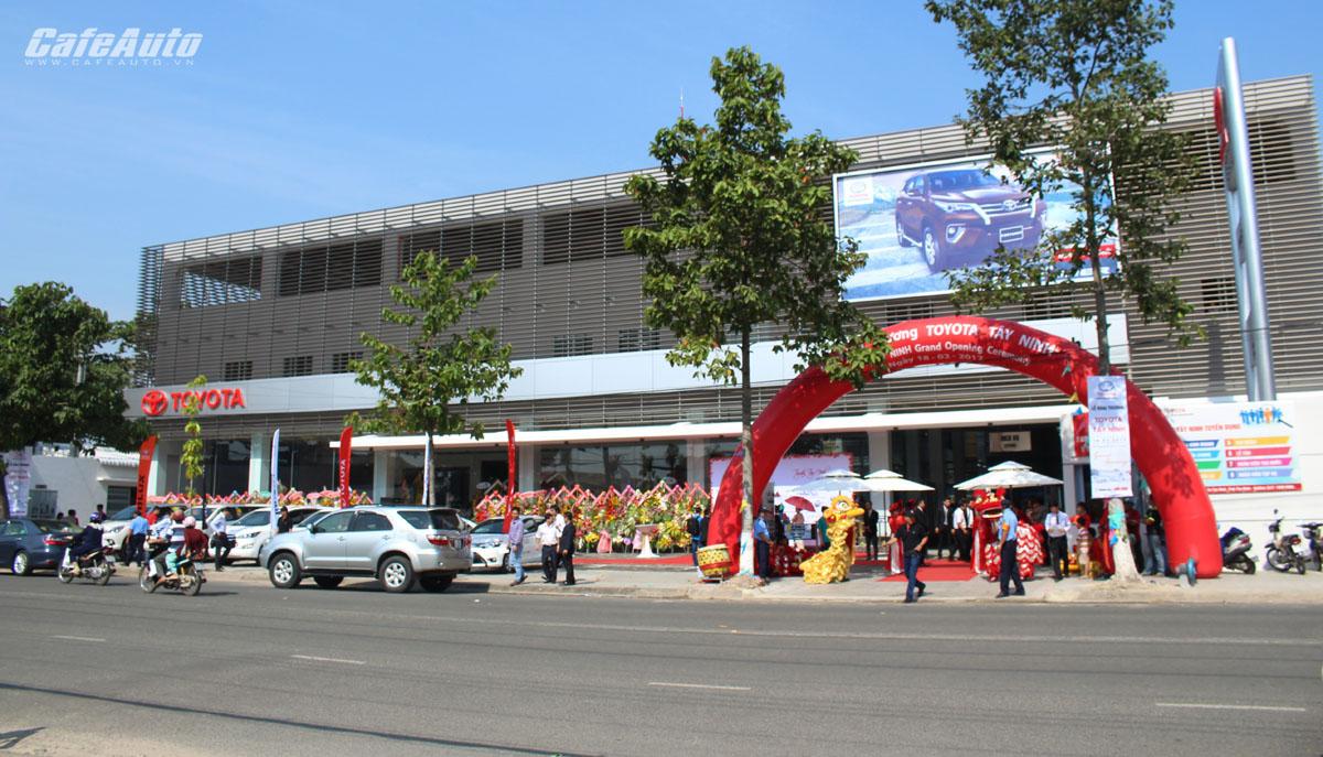 Toyota Lý Thường Kiệt khai trương chi nhánh Tây Ninh