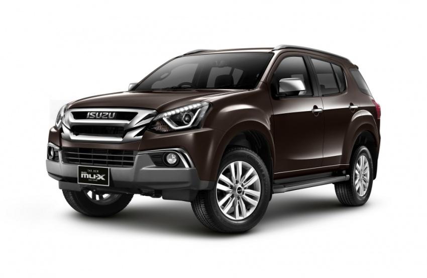 Isuzu Mu-X facelift ra mắt tại Thái Lan, giá từ 714 triệu đồng
