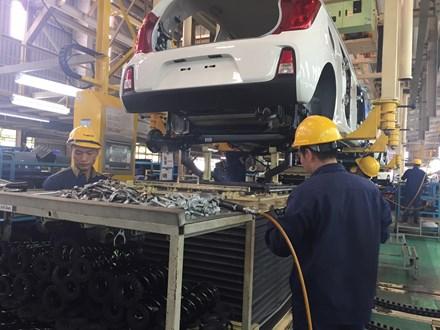 Việt Nam chưa đạt tiêu chí của ngành sản xuất ô tô