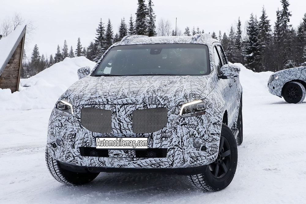 Bán tải Mercedes-Benz X-Class 2018 lộ diện trên đường chạy thử