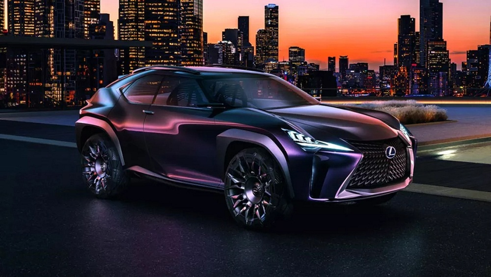 Lexus bắt đầu sản xuất mẫu Crossover UX góc cạnh