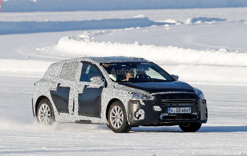 Bắt gặp Ford Focus 2019 chạy thử nghiệm