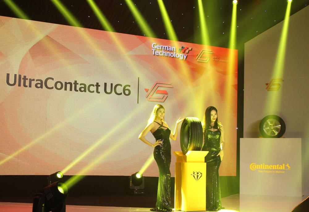 Continental Tyres ra mắt 2 dòng lốp thế hệ thứ 6 tại Việt Nam