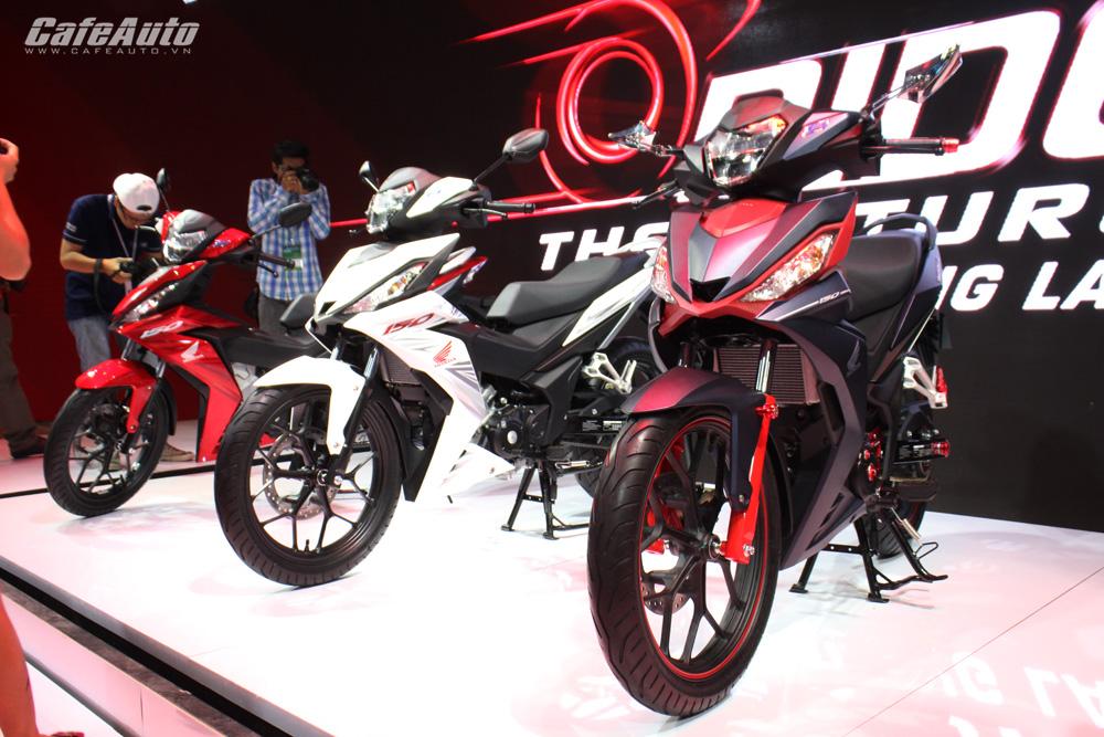 Triển lãm mô tô, xe máy quy tụ 10 nhà sản xuất tham gia trưng bày