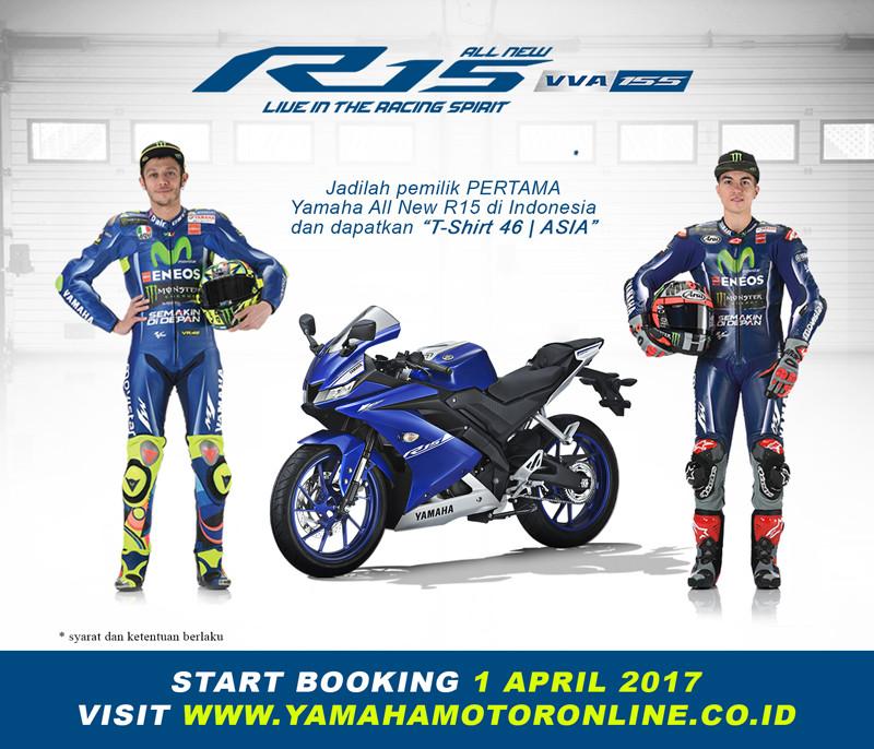 Yamaha R15 v3.0 sẽ được bán tại Indonesia từ ngày 1/4