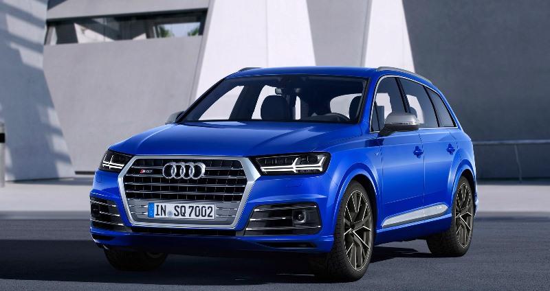 Audi SQ7 TDI 2017 - mẫu SUV máy dầu mạnh nhất thế giới