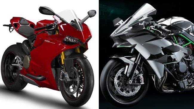 Chọn Kawasaki Ninja H2 hay Ducati 1199 Panigale với mức giá 25.000 USD