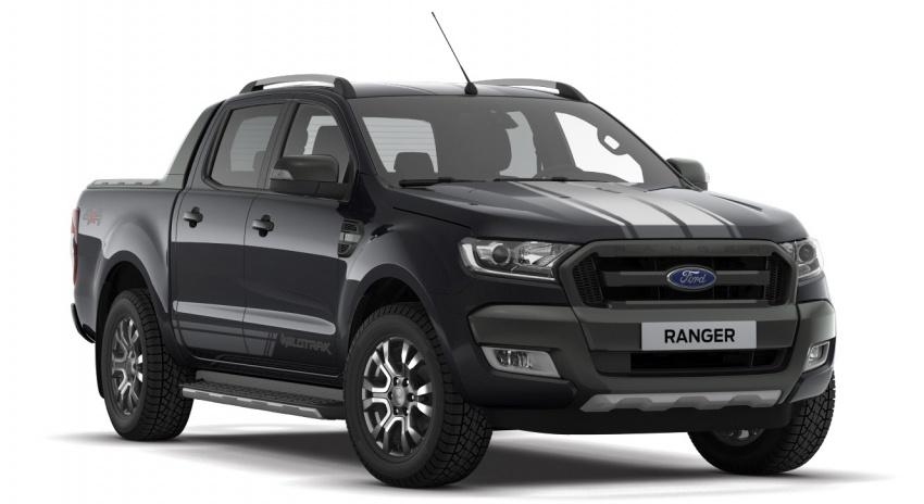 Ford Ranger 3.2L WildTrak phiên bản giới hạn ra mắt