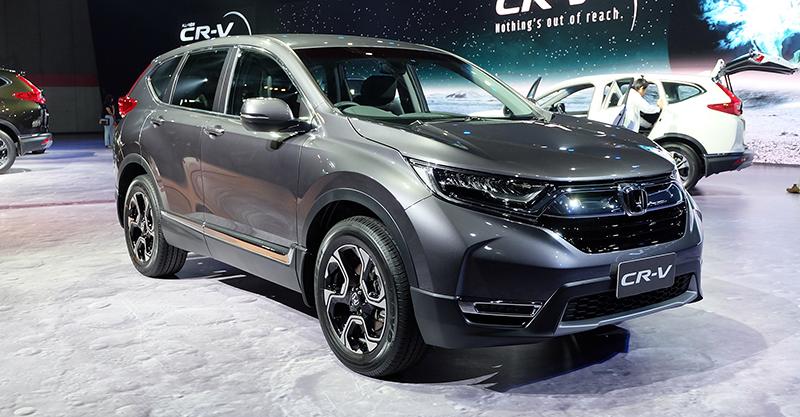 Hình ảnh thực tế của Honda CR-V 7 chỗ dành cho thị trường Đông Nam Á
