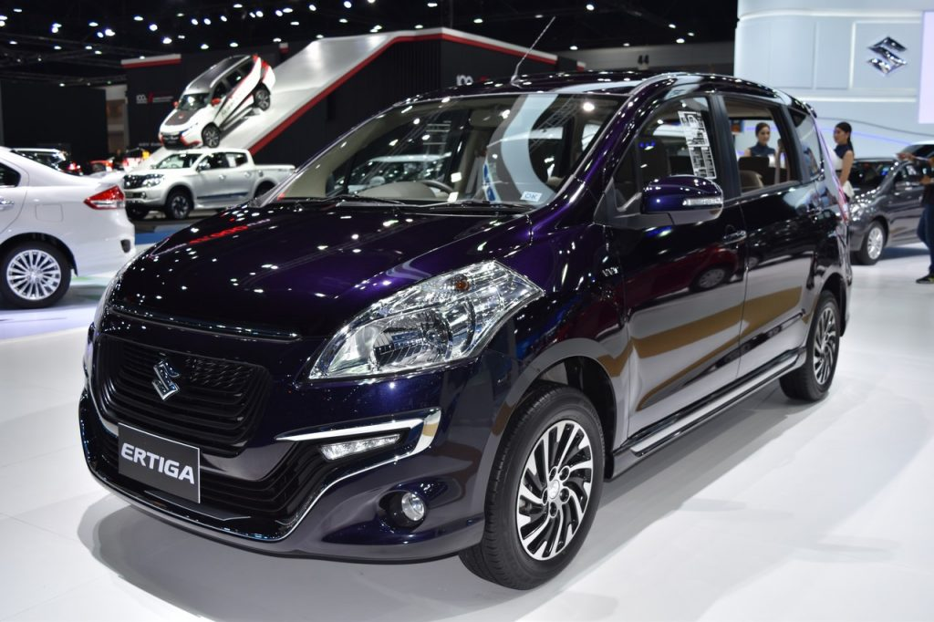 Suzuki Ertiga Dreza 2017 - đối thủ của Toyota Innova lộ diện tại Thái Lan