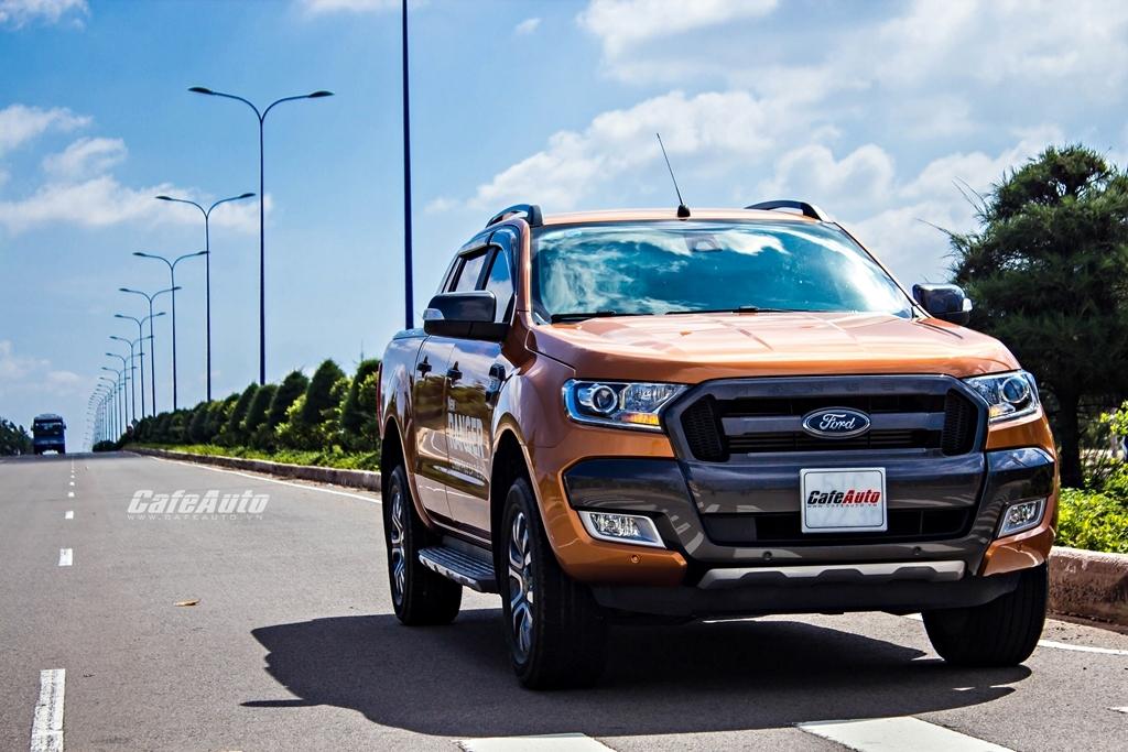 Ranger dẫn đầu các dòng xe bán chạy nhất của Ford Việt Nam