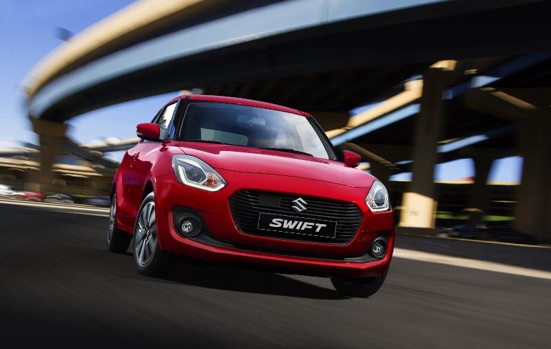 Suzuki Swift Sport thế hệ mới chỉ nặng 870 kg