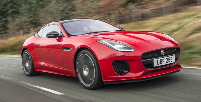"""""""Báo gấm"""" Jaguar F-Type 2018 thêm trang bị động cơ mới"""