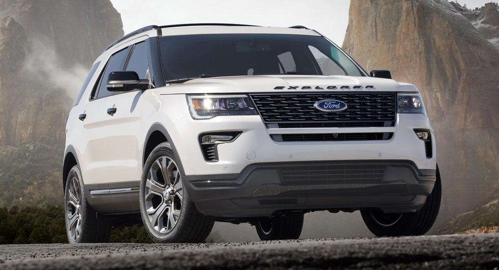 Ford ra mắt phiên bản nâng cấp Explorer 2018 tại New York Auto Show 2017