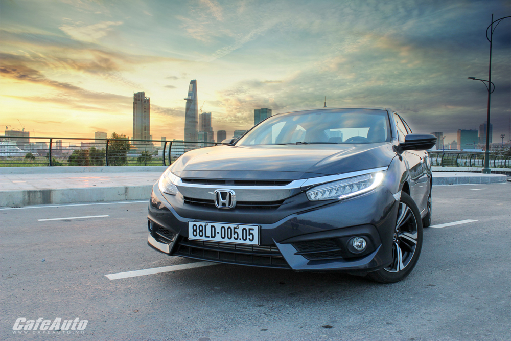 Honda triệu hồi Civic mới tại Việt Nam