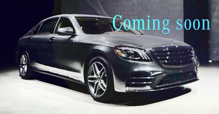 Lộ diện sedan siêu sang Mercedes-Benz S-Class 2018