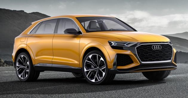 Q4 và Q8 sẽ gia nhập dòng sản phẩm của Audi