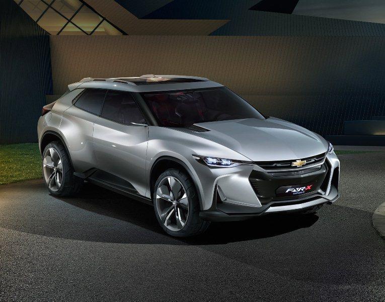 Chevrolet FNR-X, mẫu xe crossover thể thao trong tương lai