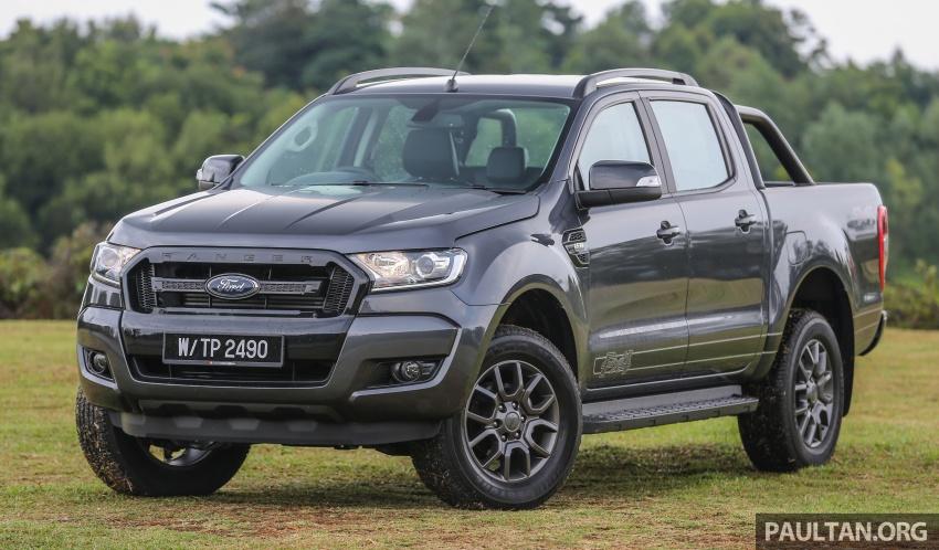 Ford Ranger 2.2L FX4 có mặt tại Malaysia, giá từ 625 triệu đồng
