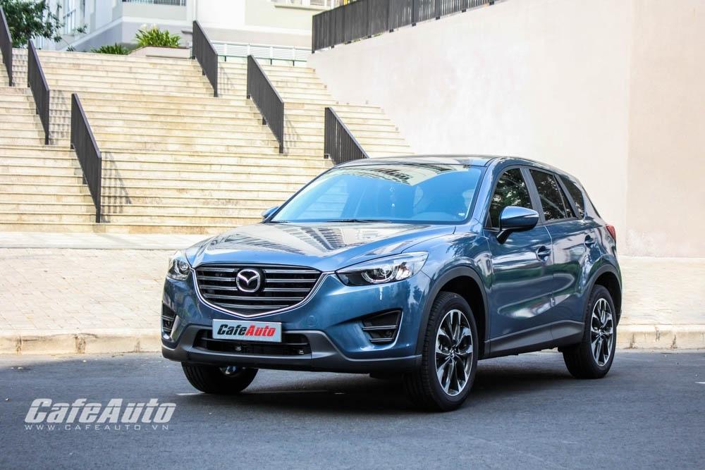 Gần 2.000 xe Mazda CX-5 bán ra trong quý I/2017