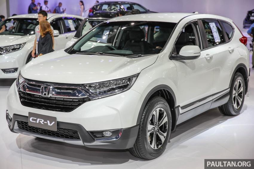Honda CR-V Hybrid 2017 sẽ được bán ra tại Trung Quốc từ nửa cuối năm nay